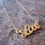 Gold Love Bracelet Charm - 14k Gold..